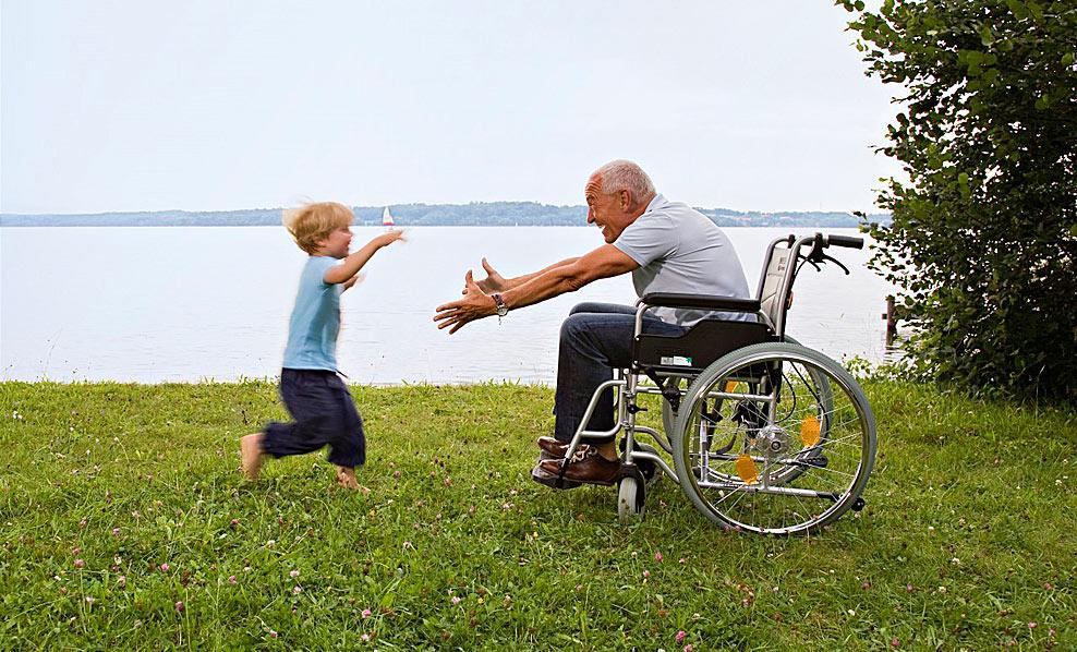 Счастливый инвалид картинка